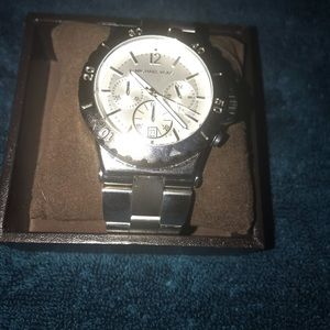Michael Kors silver watch for women